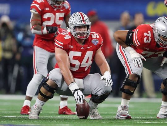 Former Ohio State C/G Billy Price is a first-round talent, but a pectoral injury suffered at the Combine could put him in play for the Giants at No. 34 overall, and they should jump at the chance.