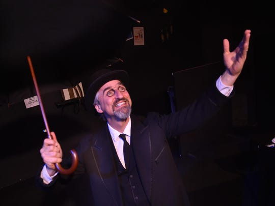 """Third Avenue Playhouse co-artistic director James Valcq created and performs """"Velvet Gentleman,'' a one-man play in which Valcq portrays the spirited mind and music of eccentric composer Erik Satie. The show premieres May 18 at TAP."""