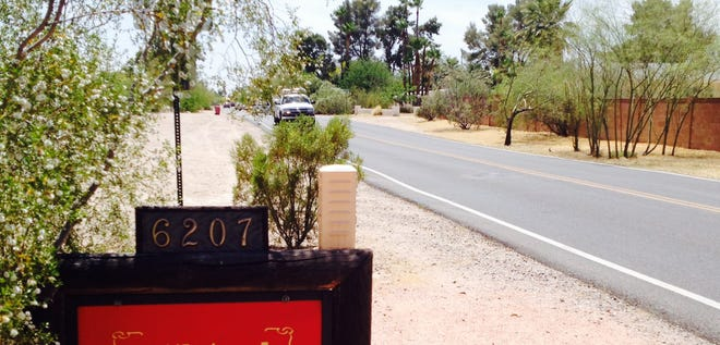 Some residents along Cattletrack Road in Scottsdale are upset by the speeding traffic.