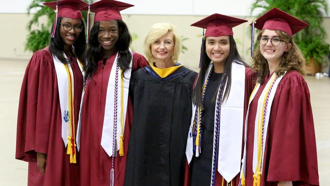 William T. Dwyer Graduation at The South Florida Fairgrounds, Monday, May 20, 2019.