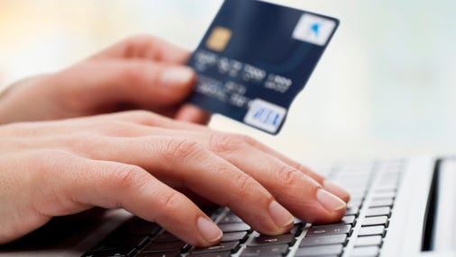 When shopping online, be sure to be using a private Wi-Fi connection. Do not conduct a transaction with personal information involving credit card information while using an open, or public, unsecured Wi-Fi network.