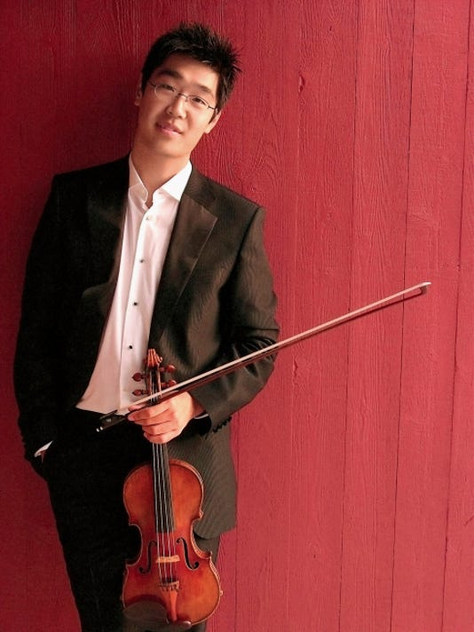 Violinist Soovin Kim will perform with the Las Cruces Symphony Orchestra Saturday and Sunday at NMSU's Atkinson Hall.
