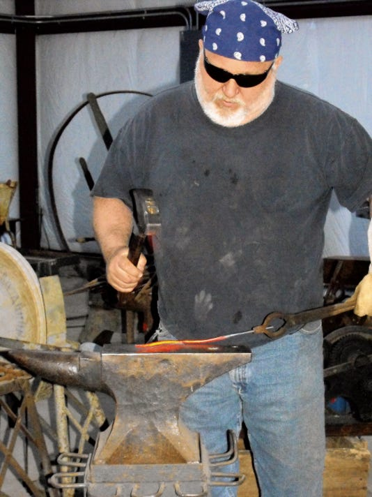 Terrell Perkins will teach an Introduction to Blacksmithing class through ENMU-Ruidoso June 14 to 19.