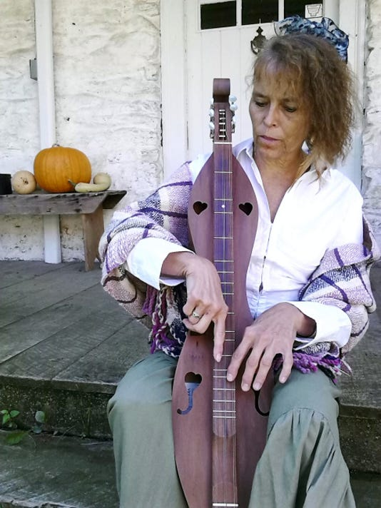 Linda Holt will be playing the dulcimer for Historic Schaefferstown Harvest Fair. Submitted
