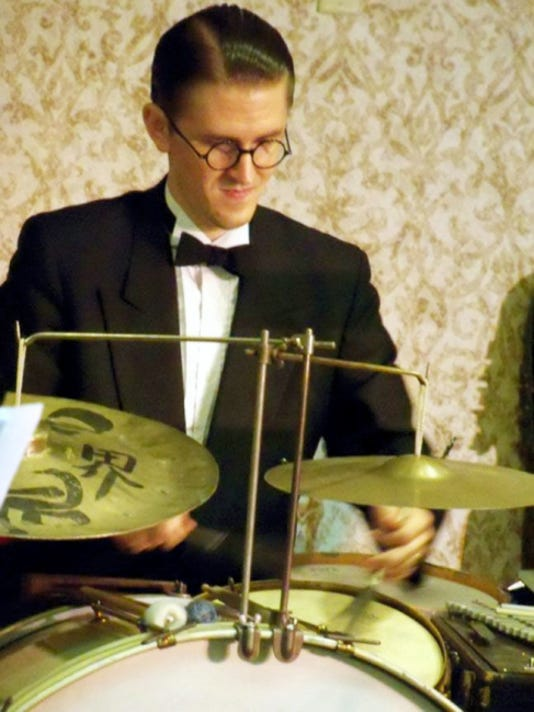 Jazz percussionist Josh Duffee and The Graystone Monarchs will perform a free concert July 22 in Capitol Theatre, Chambersburg. The Chauncey Morehouse Tribute Concert honors the late Chambersburg drummer Chauncey Morehouse.