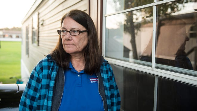 For years, Connie Toney and her neighbors have complained of water quality issues and poor communication from the owners of New Oxford Manor, where she lives in a mobile home. In 2016, residents were issued eight boil-water notices spanning a total of 81 days as pipe repairs were being made. Toney's monthly lot rent has increased 50 percent in the past four years, rising from $300 to $450.