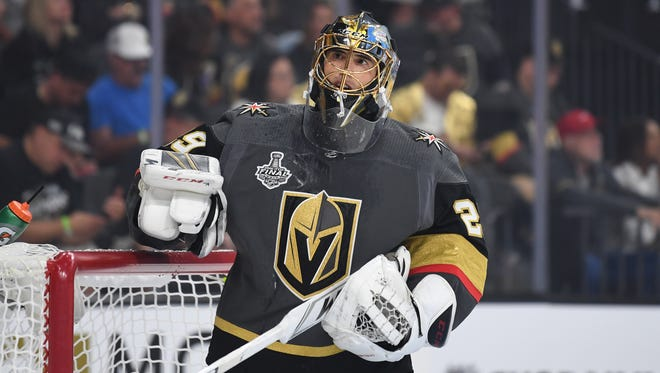 Vegas Golden Knights goaltender Marc-Andre Fleury has signed a three-year extension with the team.