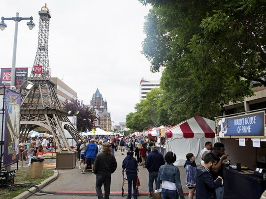 Milwaukee's French festival, Bastille Days, runs July 14-17 this year.