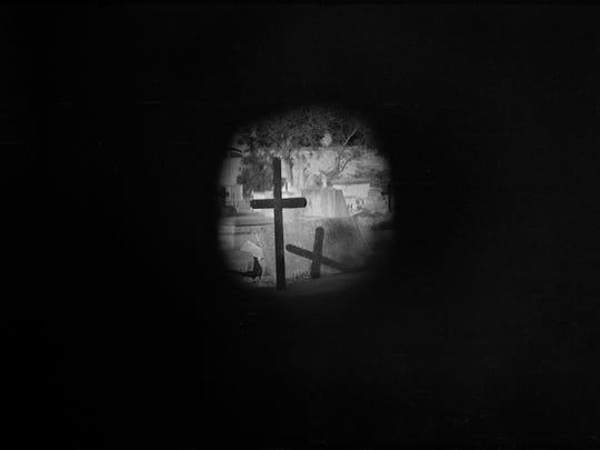 """""""Christian Cemetary"""" by Saul Harris."""