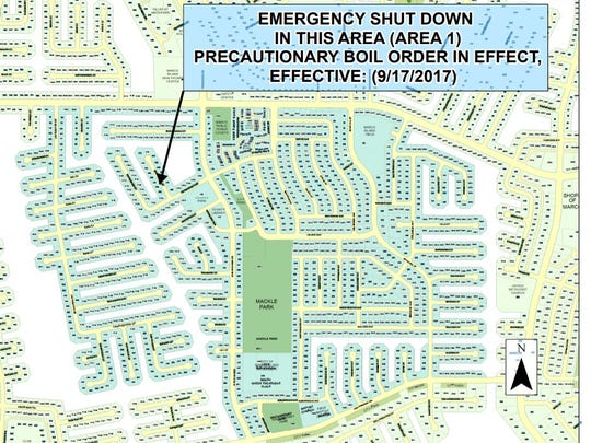 As of Monday morning, theboil water notice for Marco Island has been lifted with the exception of Sunflower Court and East Inlet Drive.