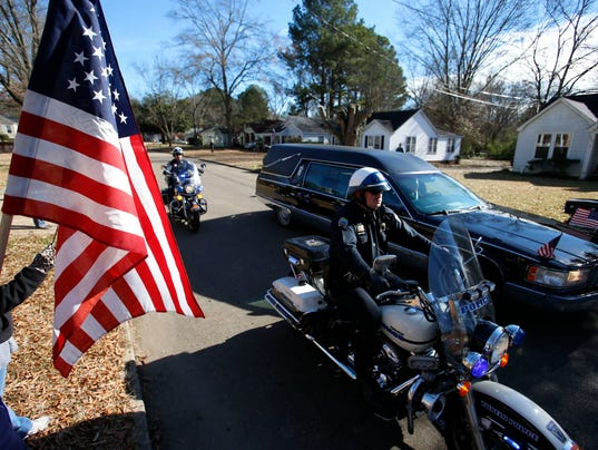 Police officer funeral