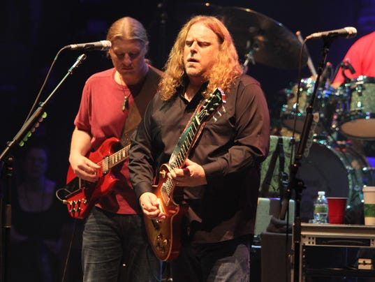 Derek Trucks, Warren Haynes of the Allman Brothers Band