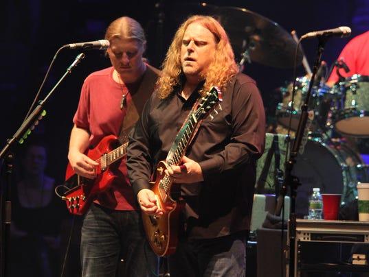 Derek Trucks, Warren Haynes of the Allman Brothers Band