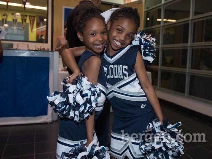 Philip's Academy cheerleaders (Photo by Jeremy Smith)