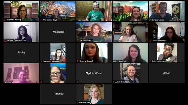 Columbia State Community College hosted a virtual orientation event using the Zoom platform for Giles County students in an effort to provide important information for incoming freshmen.
