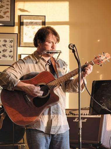 Tom Chamberlain performs at Café Sol, 4503 State Route 64 in Bristol.