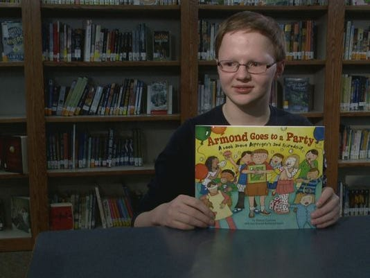 Teen with Asperger's syndrome writes book