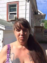 Tina Jones, the owner of two pit bulls who were euthanized