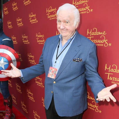 Actor Chuck McCann attends Madame Tussauds Hollywood