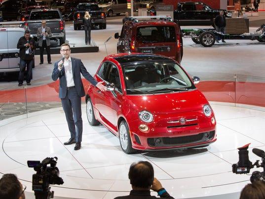 Fiat 500 Chicago Auto Show Debut