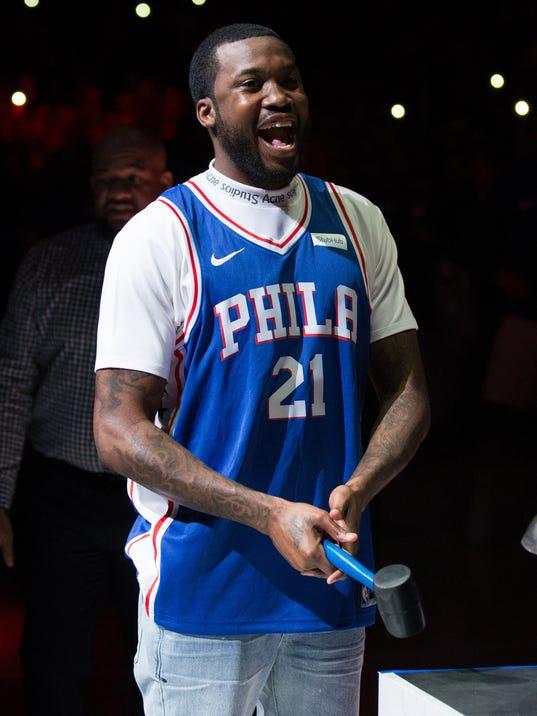 USP NBA: PLAYOFFS-MIAMI HEAT AT PHILADELPHIA 76ERS S BKN PHI MIA USA PA