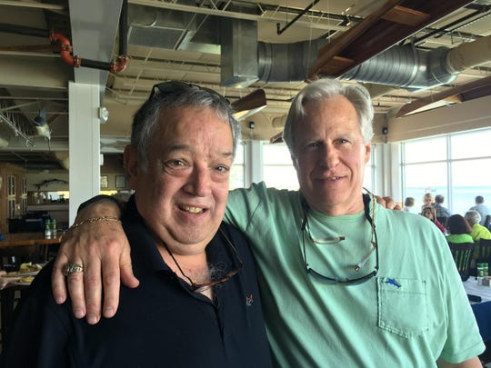 Mike Adair and Bruce Berridge, the two survivors of the 1965 crash, have known each other since grade school. They're still close friends.