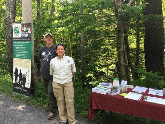 Working closely with the New York State Department of Environmental Conservation, Summit Stewards in the Catskills help address the unique concerns of the popular peaks for hiking.