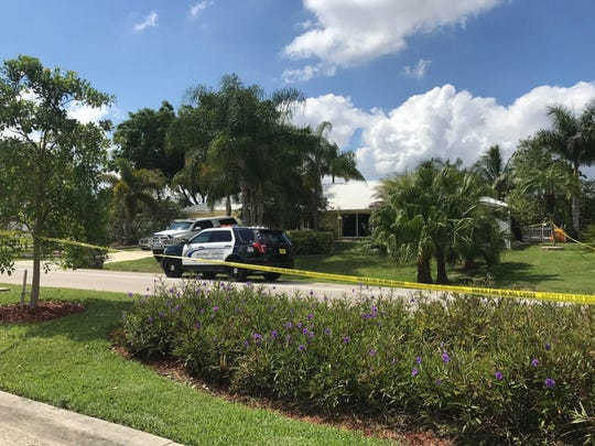 A home on Cornwallis Parkway in Cape Coral was cordoned off by police tape in May 2017 after reports of a shots fired. One person was taken to the hospital and later died.