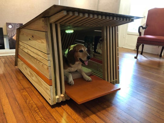 Bow Wow Dog House by Lewis and Whitlock art