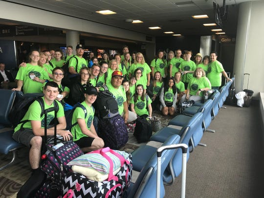 Students from Springfield High School get ready to embark on a trip of a lifetime to Europe.