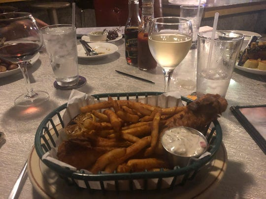 Fish and chips are a staple at Noble Savage.