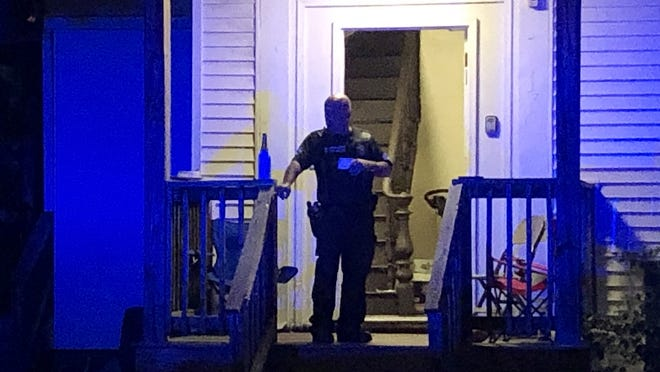 A man was shot Sunday night and taken to the hospital from 170 Austin St. in Worcester, police said.