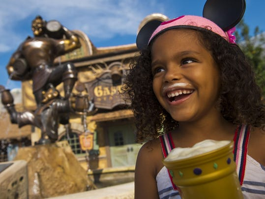 Guests Enjoy Le Fou's Brew at Gaston's Tavern