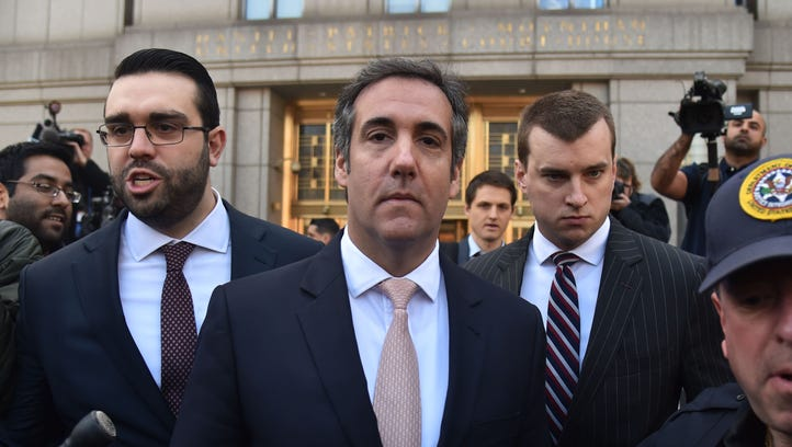 Michael Cohen in New York on April 26, 2018.