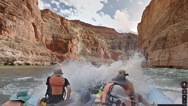 Google Maps will now feature photos of the Colorado River in the Grand Canyon.