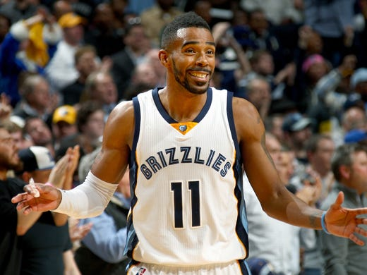 December 16, 2014 -  Memphis Grizzlies Mike Conley