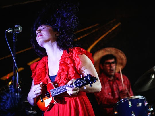 Bloody Death Skull, featuring Daiana Feuer, performs at 8 p.m. Friday at The Dip in Redding.