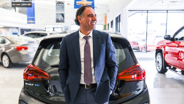 Ali Reda, a car salesman at Les Stanford Chevrolet