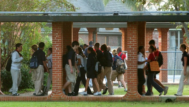 A recent survey showed principals at Lafayette Parish public schools make less than in many other parishes.