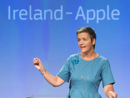 EPA BELGIUM EU IRLAND APPLE STATE AID POL TREATIES & ORGANISATIONS BEL