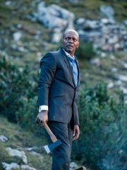 Samuel L. Jackson as the president of the United States