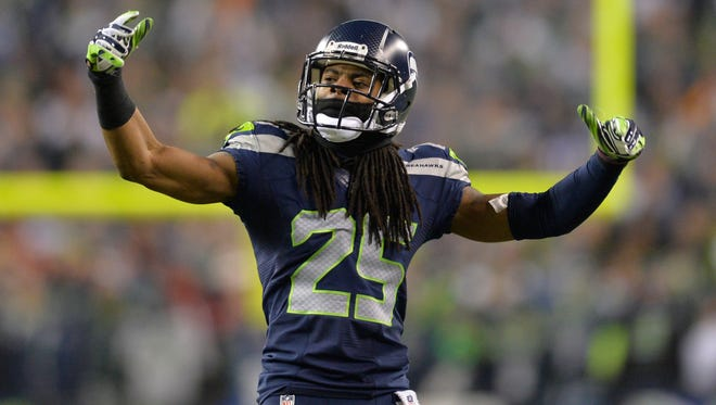 Richard Sherman's words and actions became the story after the Seahawks won the NFC Championship Game.