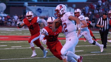 'Doing without it just wasn't an option for me and my family.' Arrowhead's Holtz, a baseball standout, will return to football