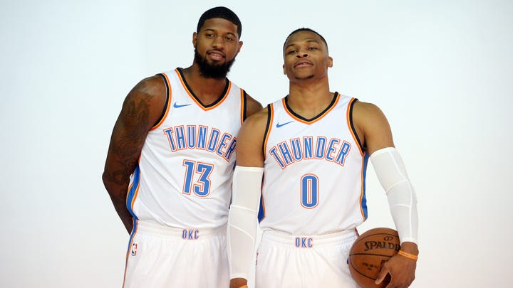 NBA A to Z: Paul George opens up on being traded, embracing Oklahoma City and his future