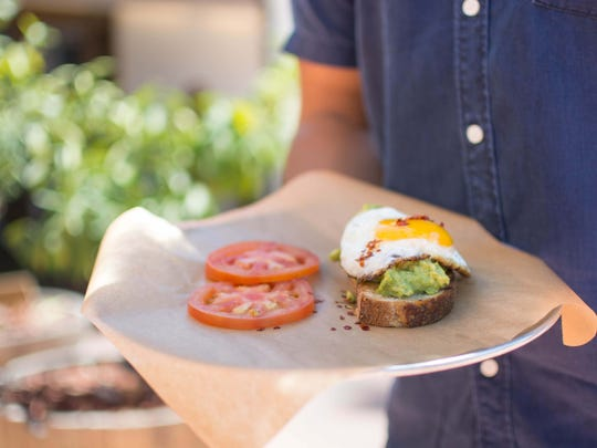 The avocado toast at Original ChopShop, which plans