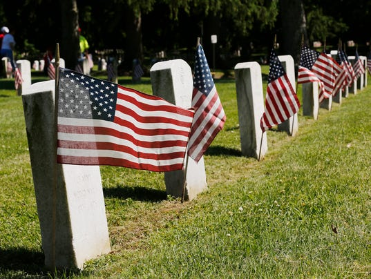 LAF Flags for Memorial Day