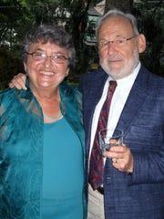 Judith Ann Hiller and her husband Al Goldberg.