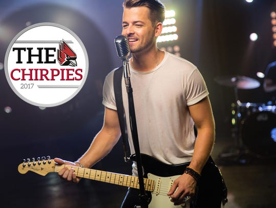 Rising country music star Chase Bryant