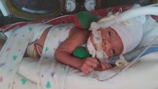Baby Carsyn was born Dec. 10 at 11:25 p.m. and was premature.