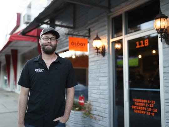 Nick Walker, owner of Ology Brewing Co. on 6th Avenue,